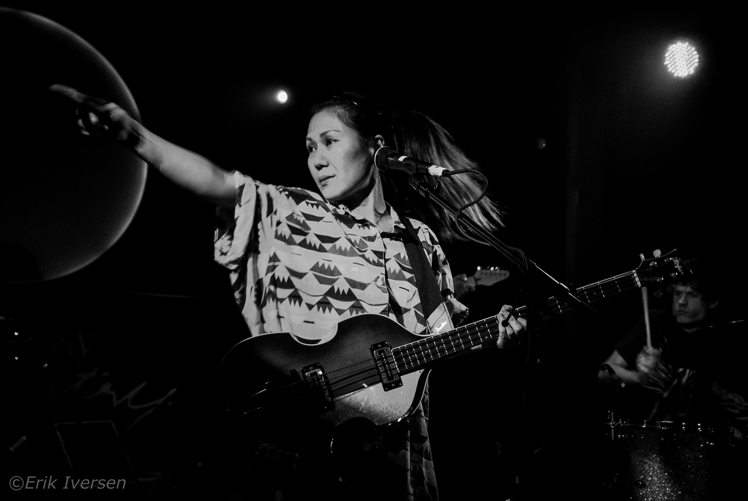 Deerhoof @ Fortune Sound Club © Erik Iversen