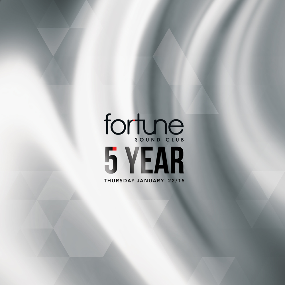 Fortune Sound Club 5 Year Anniversary Party