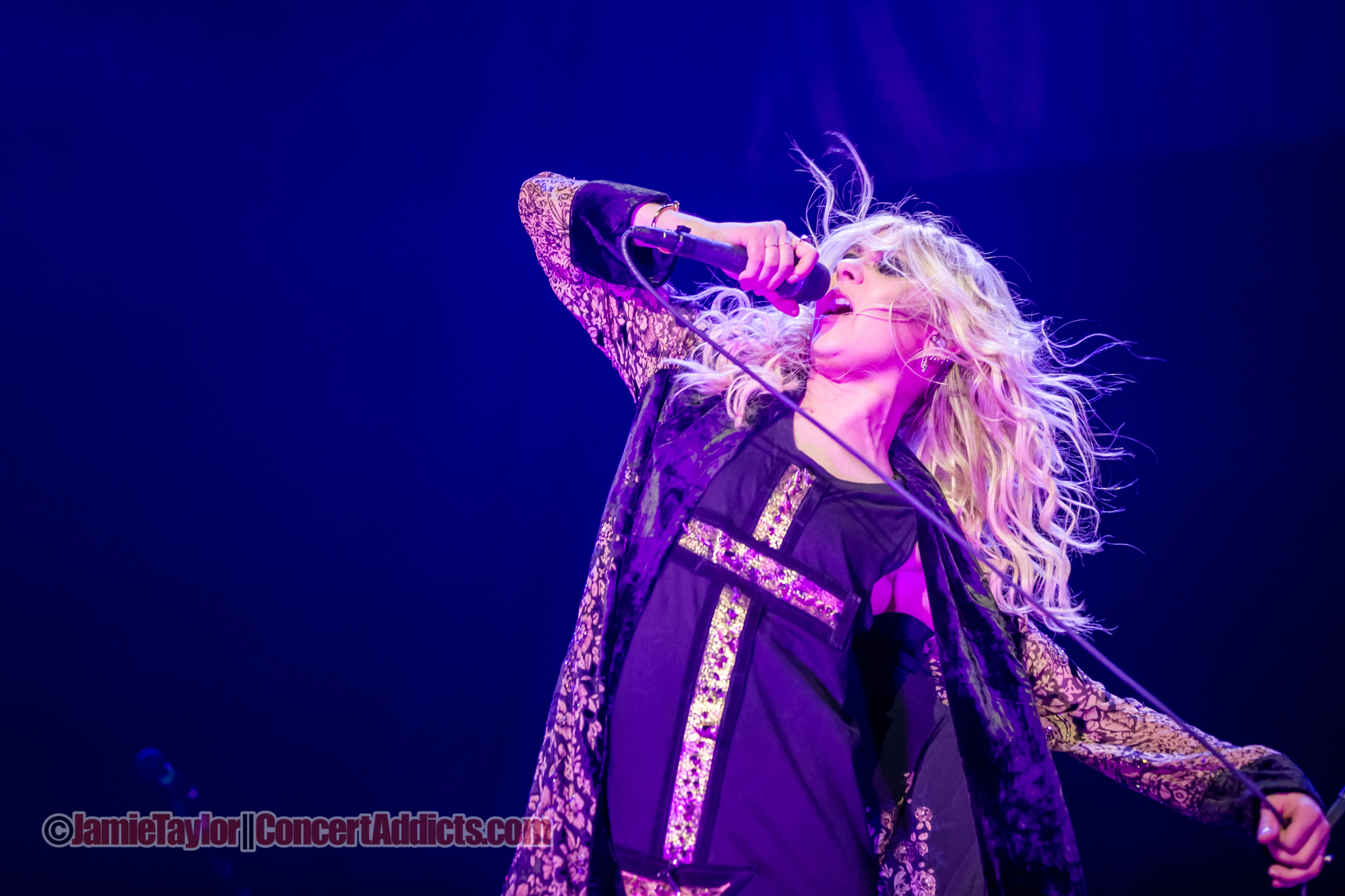 The Pretty Reckless @ Rogers Arena Vancouver © Jamie Taylor