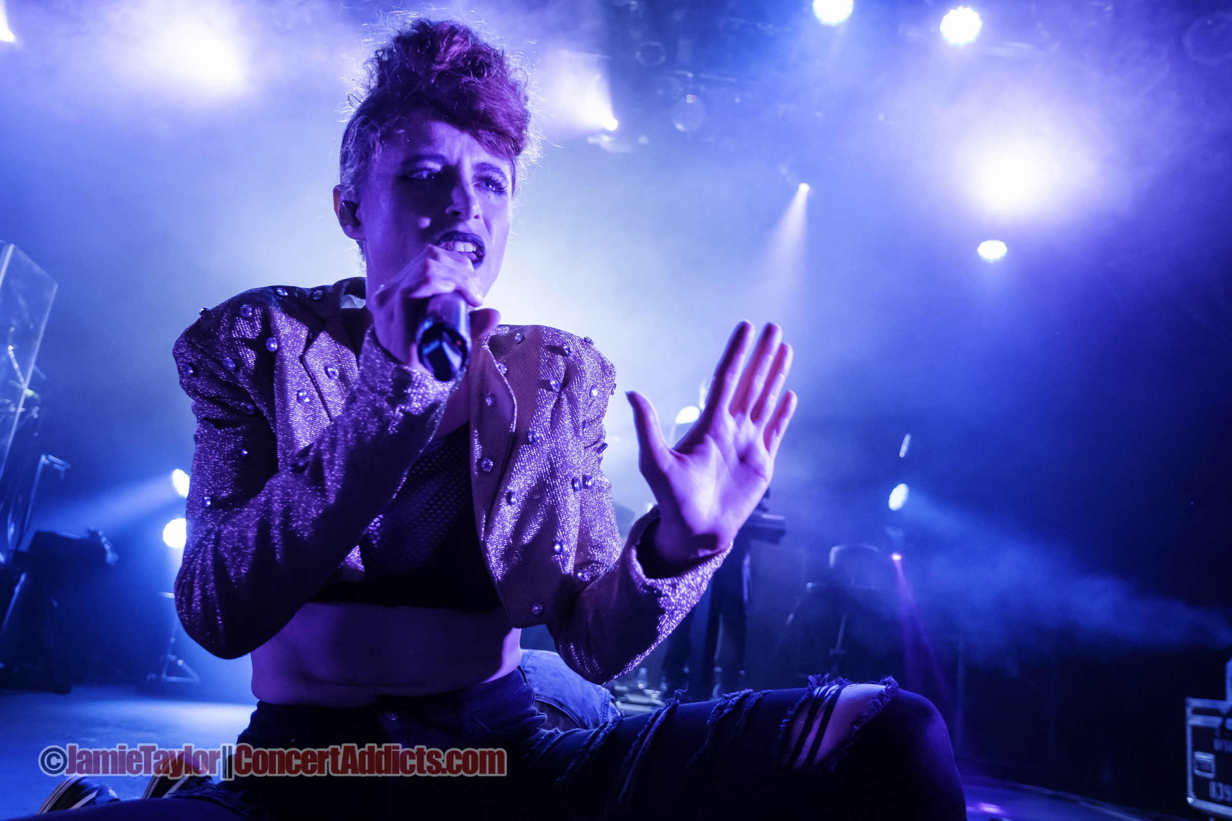 Kiesza @ The Commodore Ballroom Vancouver © Jamie Taylor