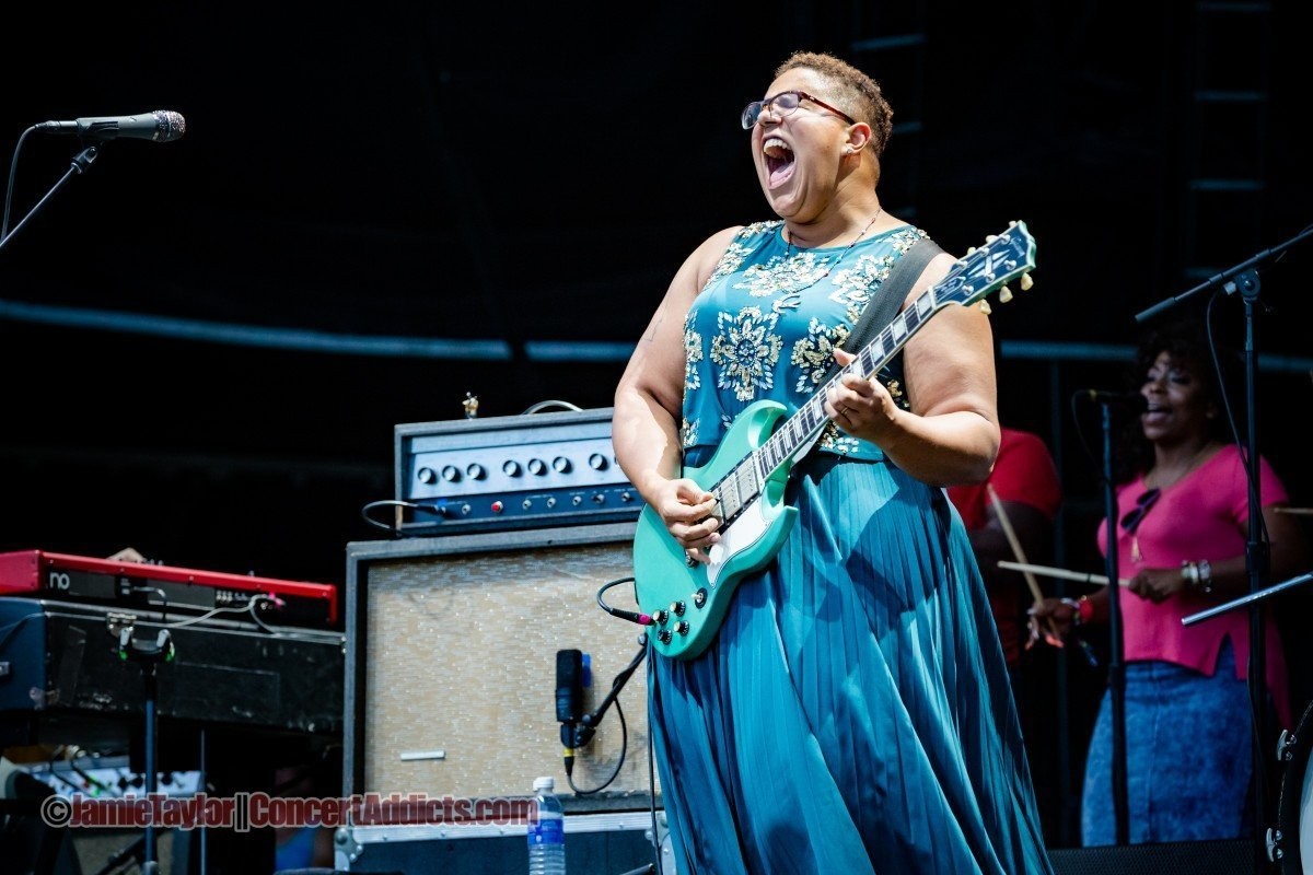 Brittany Howard of Milky Chance at the Tantalus at Squamish Valley Music Festival 2015