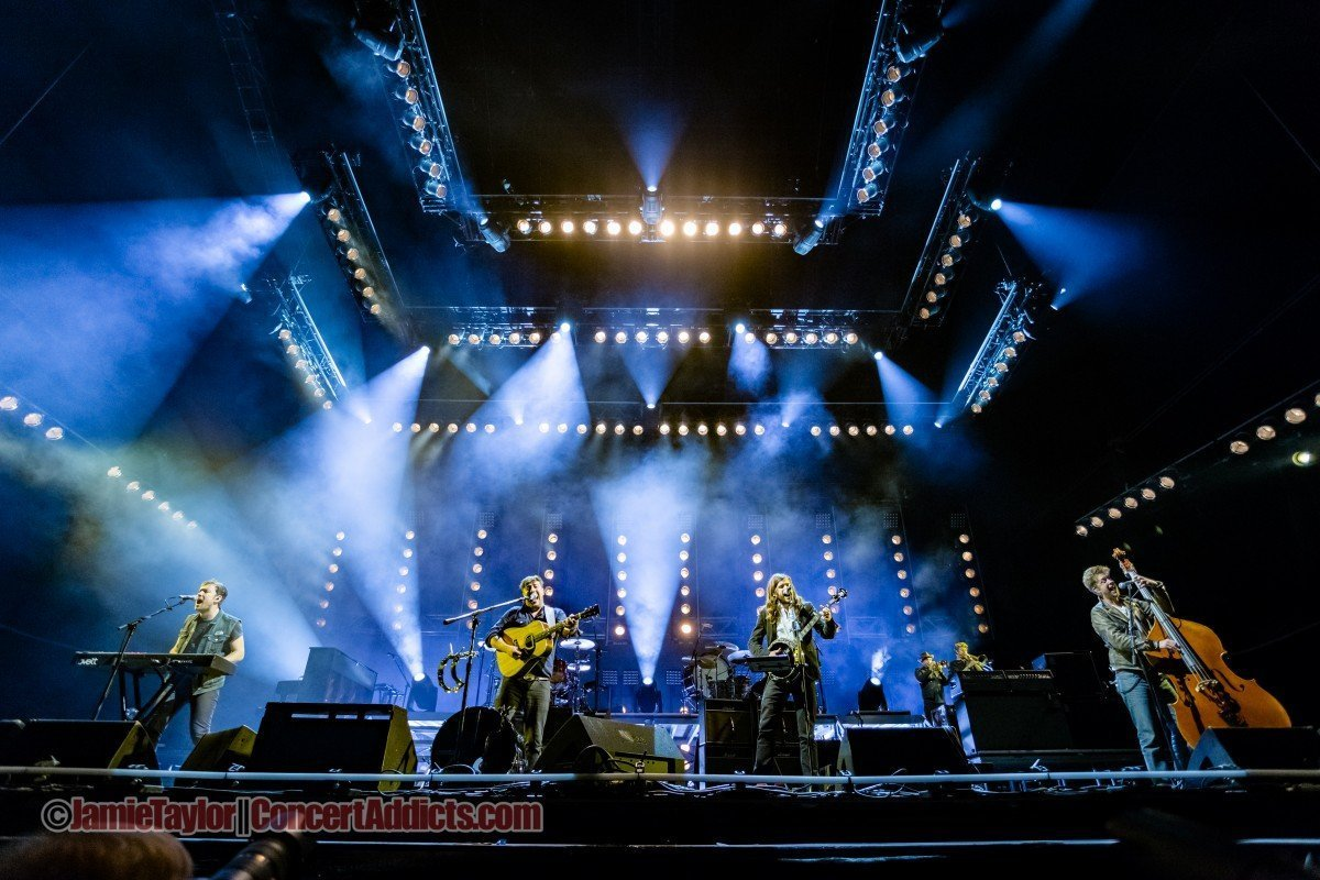 Mumford & Sons at the Tantalus at Squamish Valley Music Festival 2015