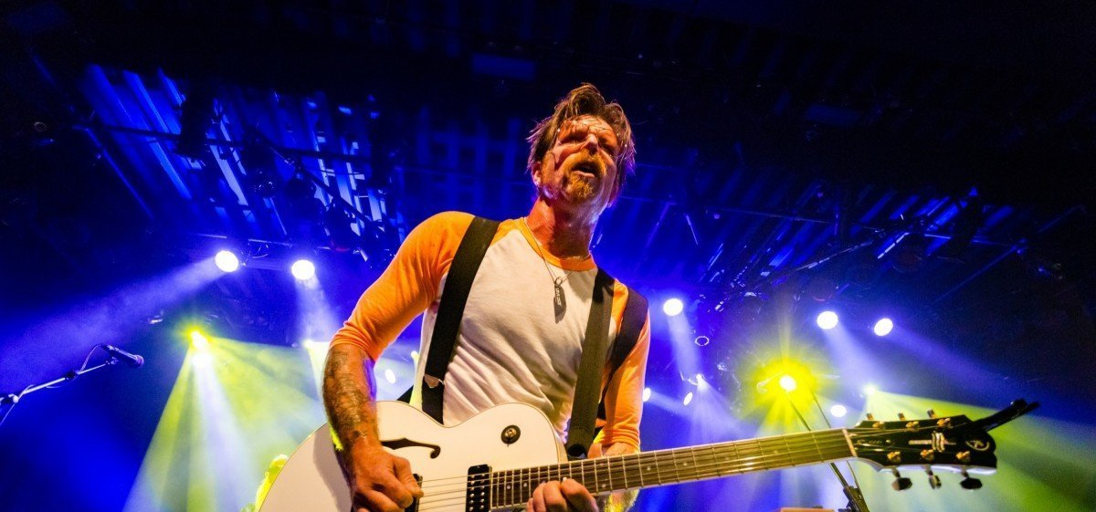 Jesse Hughes of Eagles Of Death Metal @ Commodore Ballroom 2015