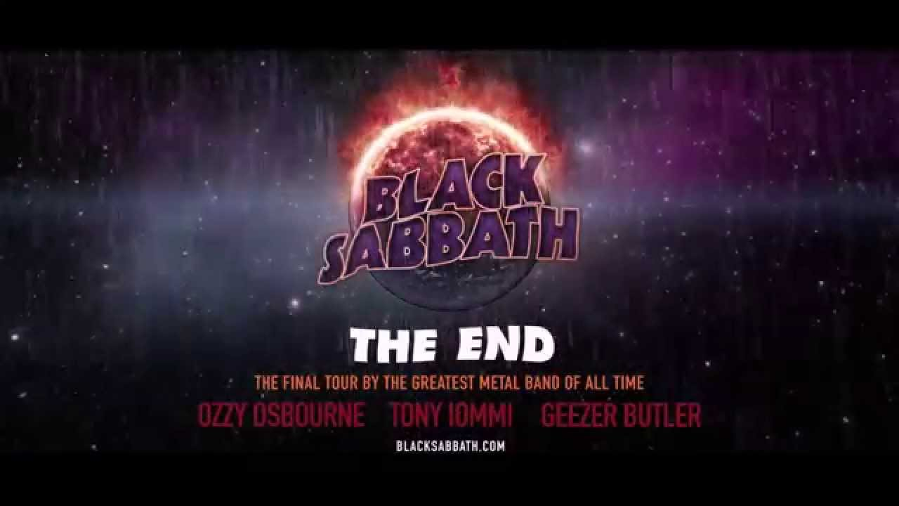 "Black Sabbath Announce ""The End"" Tour"