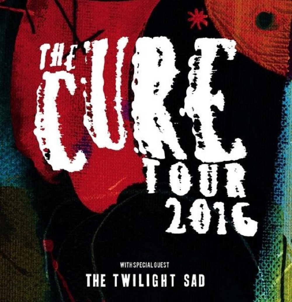 The cure north american tour 2016 concertaddicts poster