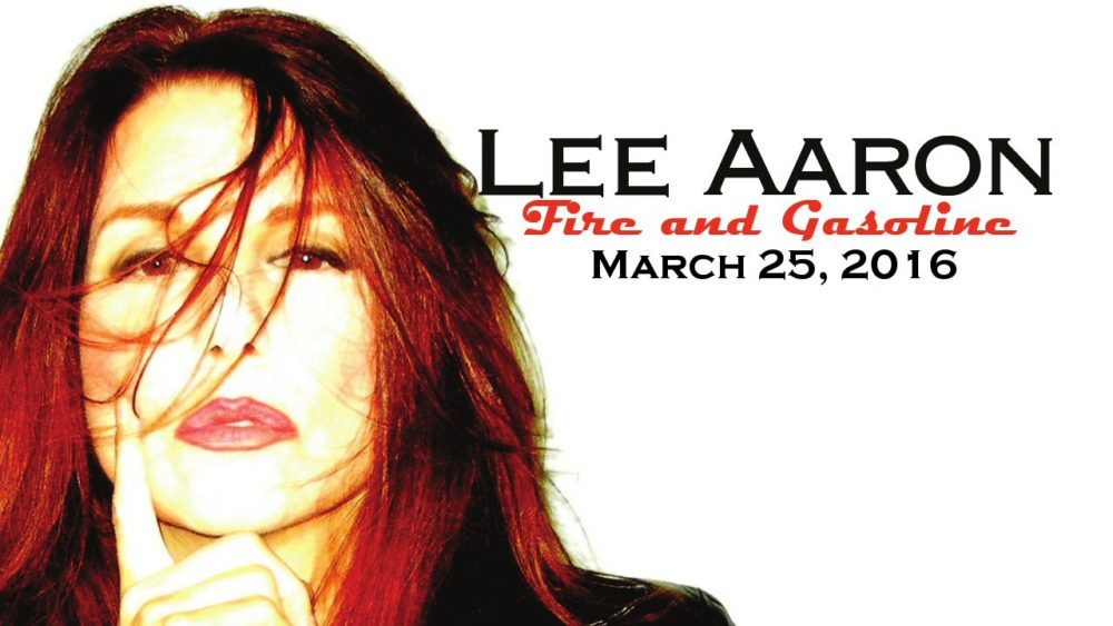 "Lee Aaron – ""Fire and Gasoline"""