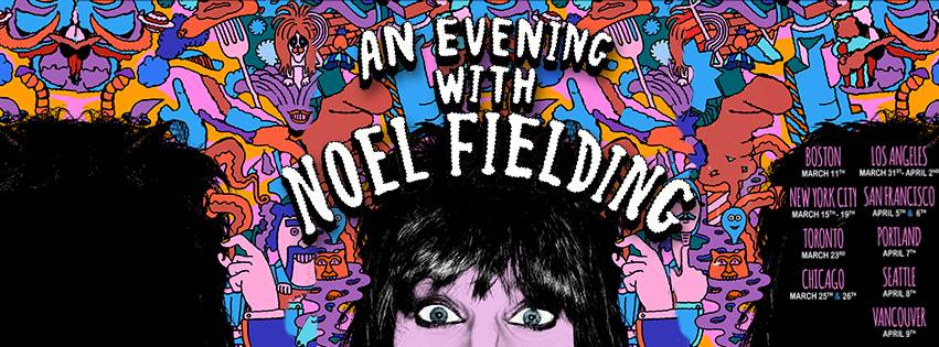 Noel Fielding @ Vogue Theatre – April 9th 2016