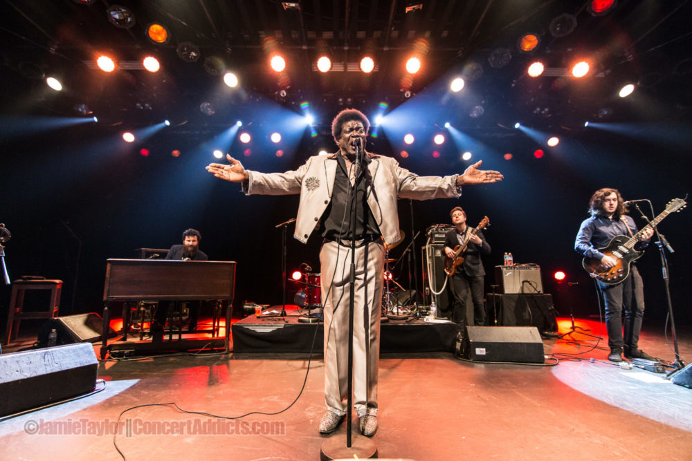 Charles Bradley front and center