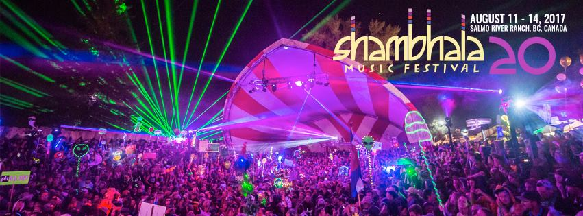 Get ready for Shambhala 2017 with our Hand Picked Concert Addicts Playlists