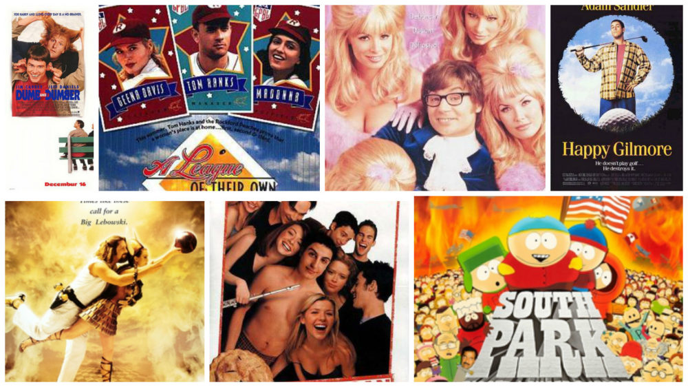 Top 10 Comedies From The 90s