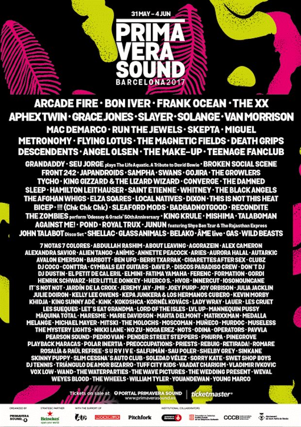 Primavera Sound 2017 in Barcelona