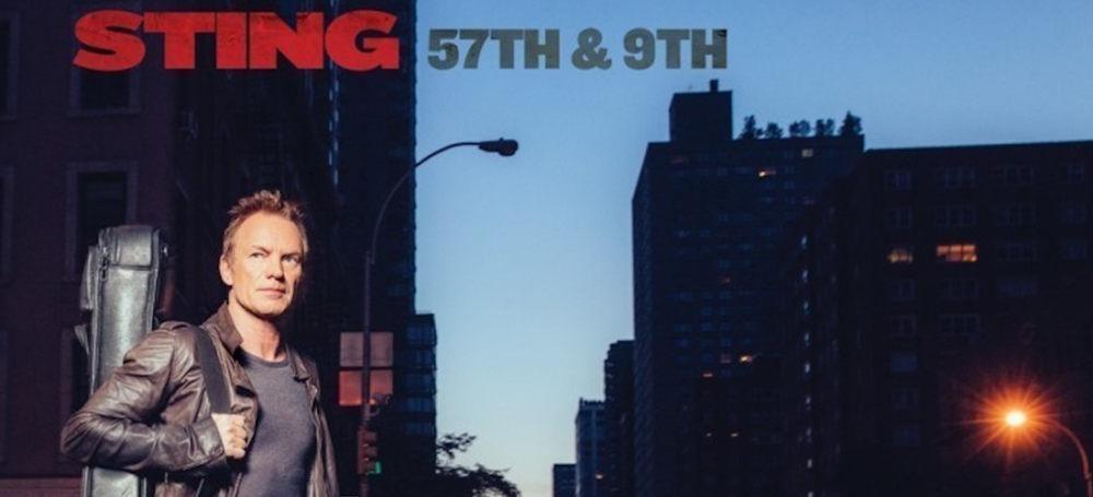Featured tour for January 2017 is Sting's 57th & 9th Tour