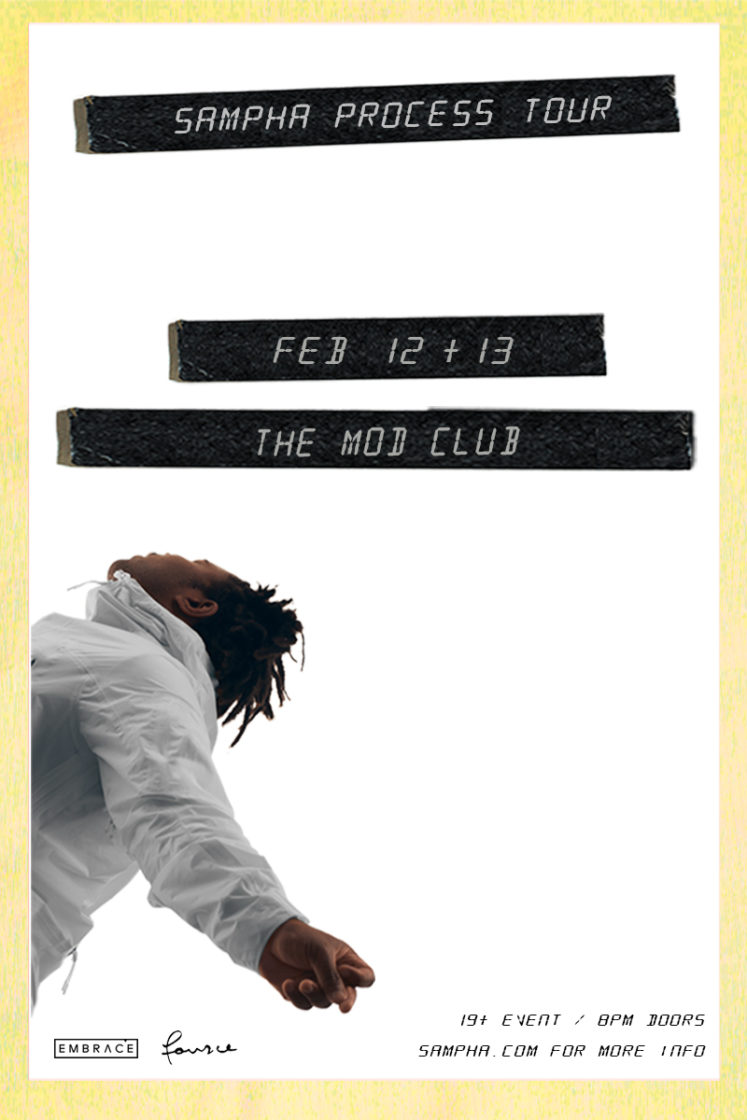 Sampha @ MOD Club – February 12th 2017