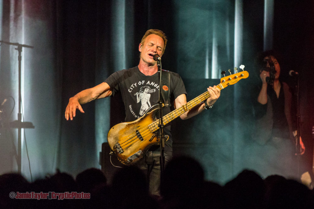 Sting @ The Commodore Ballroom – February 1st 2017