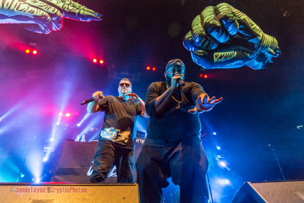 Run The Jewels + The Gaslamp Killer @ The PNE Forum – February 8th 2017