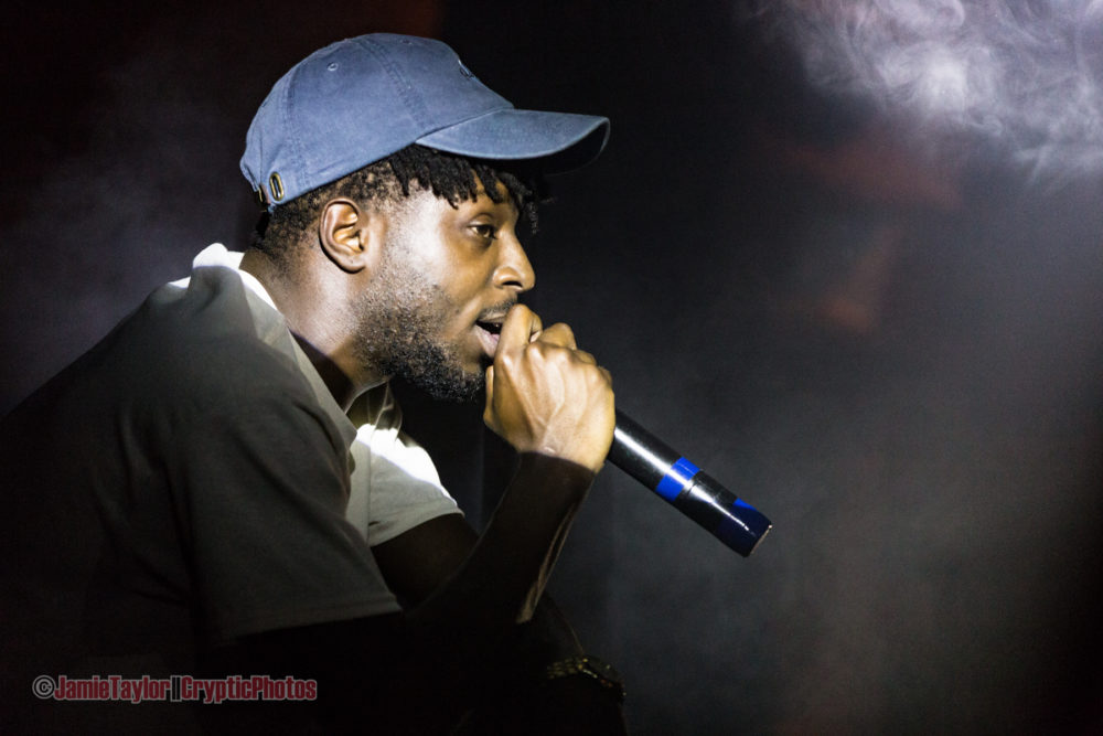 Isaiah Rashad at Fortune Sound Club in Vancouver, BC on March 22nd 2017
