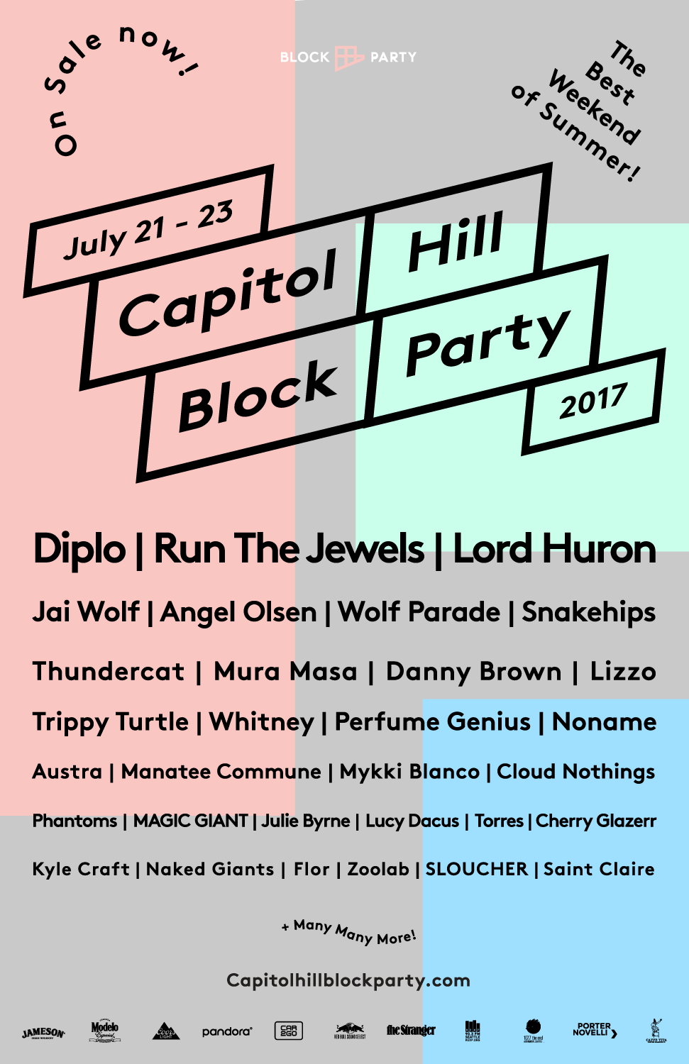 Capitol Hill Block Party 2017 in Seattle, WA