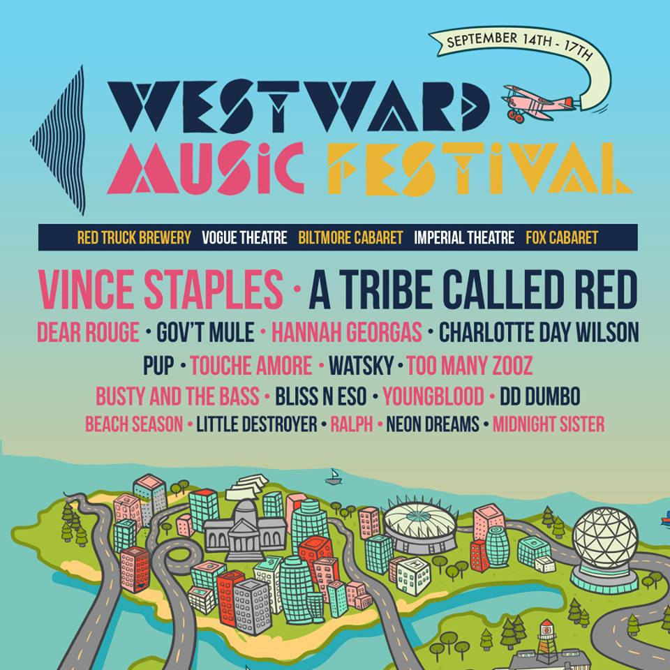 Westward Music Festival 2017 in Vancouver, BC
