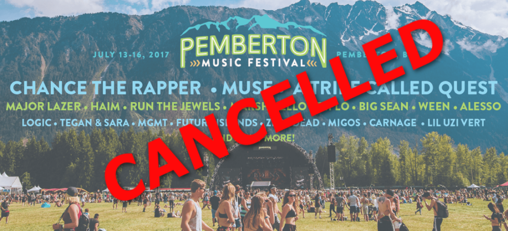Pemberton Music Festival 2017 at Mount Currie, BC *CANCELLED*