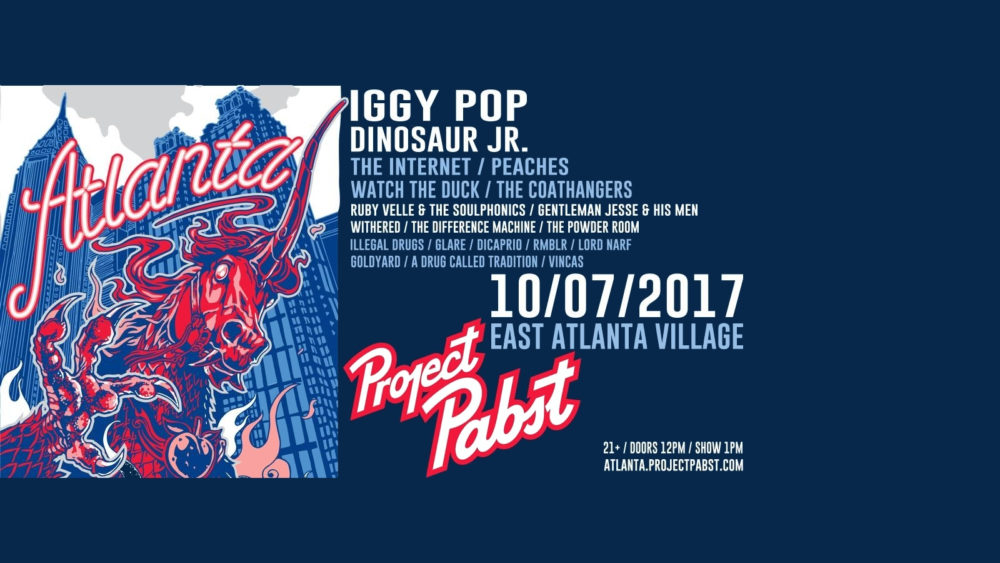 Line-Up Announced For Project Pabst Atlanta on October 7, 2017