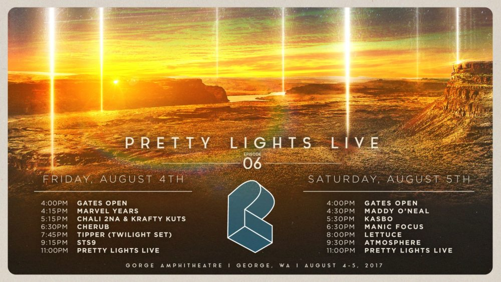 Pretty Lights @ Gorge Amphitheatre – August 4th-5th 2017