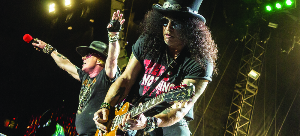 "REVIEW // Guns N' Roses @ BC Place during their ""Not In This Lifetime"" Tour on September 1st 2017"