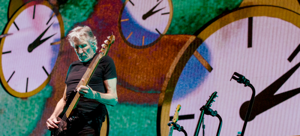 Roger Waters of Pink Floyd performing at Rogers Arena in Vancouver, BC on October 28th 2017