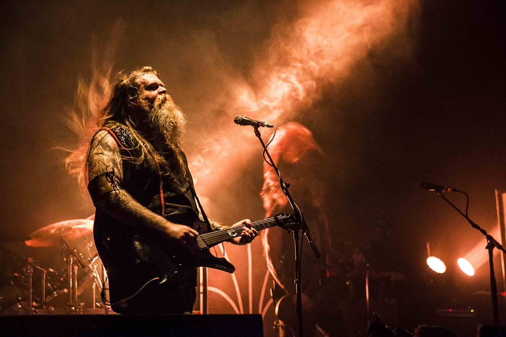 © Kevin Eisenlord - Decibel Magazine Tour presents Enslaved at Rickshaw Theatre in Vancouver, BC on March 5th, 2018