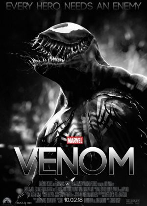 Venom [2018] poster -  Official Trailer #1 - October 5th, 2018