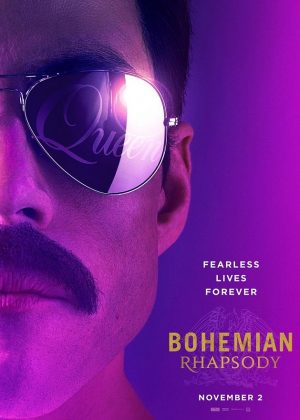 Bohemian Rhapsody 2018 movie poster - November 2nd 2018